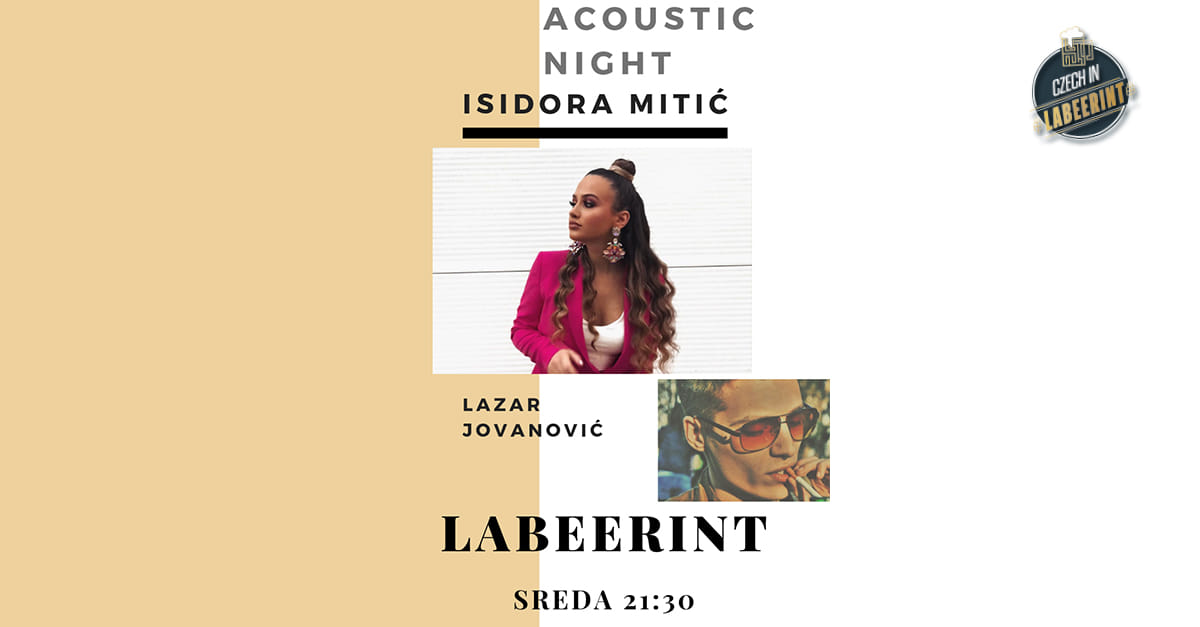 Acoustic Night with Isidora Mitić and Lazar Jovanović