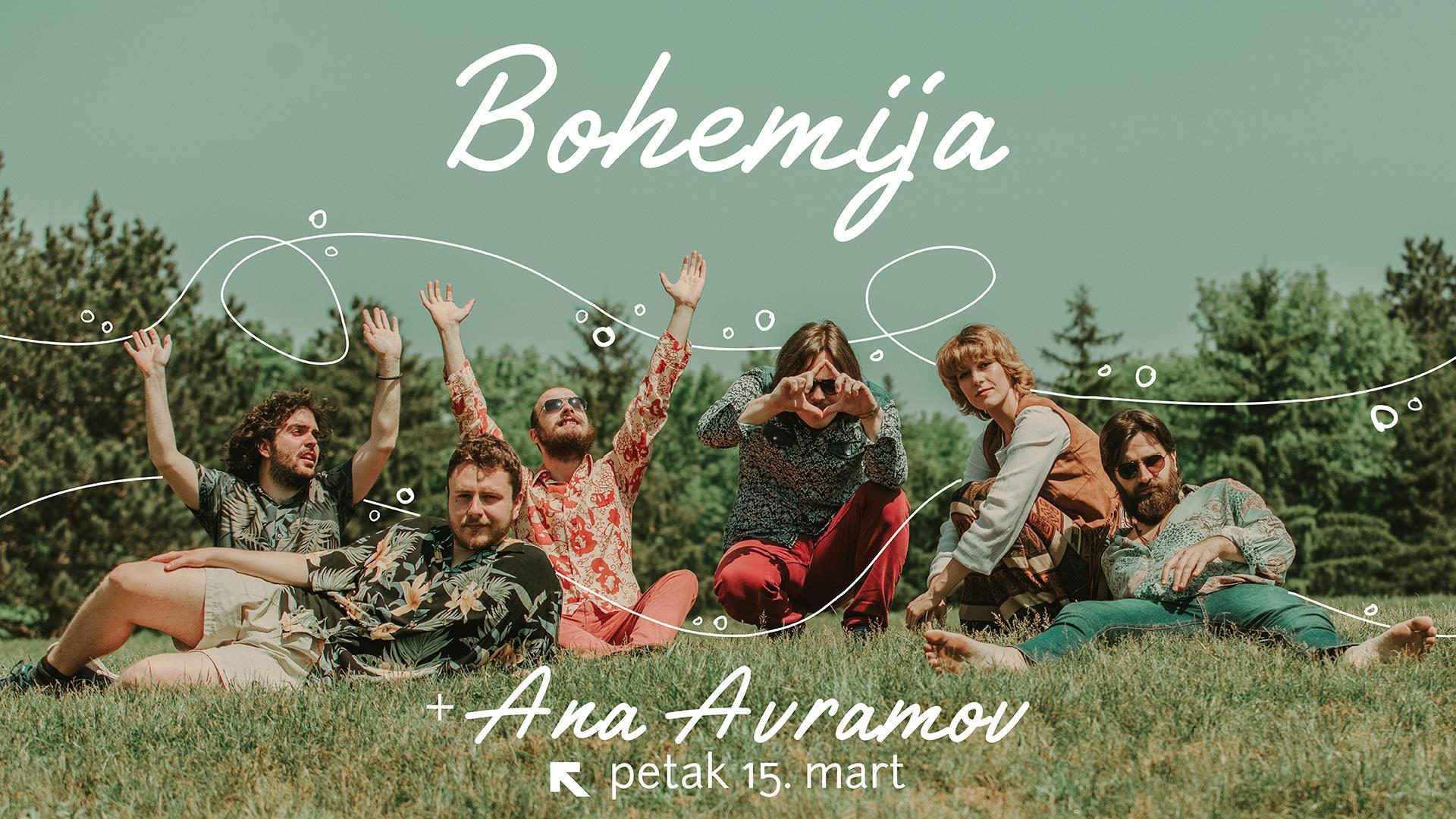 Bohemija + Ana Avramov - 15. Mart - Feedback