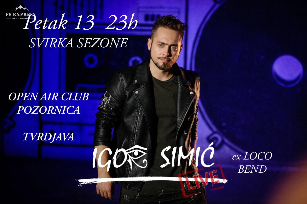 Igor Simić&Njegov Predivni Bend@Cafe Pozornica