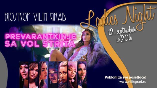 Ladies Night u bioskopu Vilin Grad