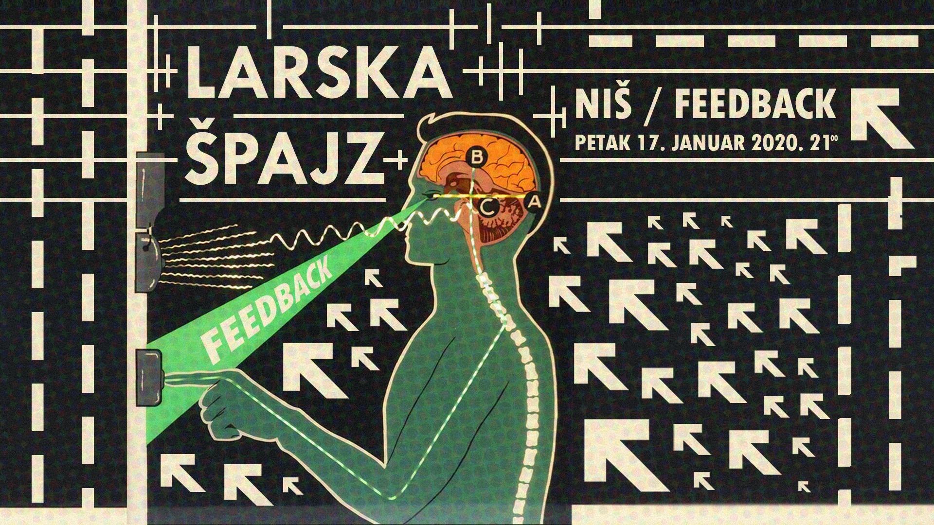 Larska & Špajz - 17. Jan - Feedback