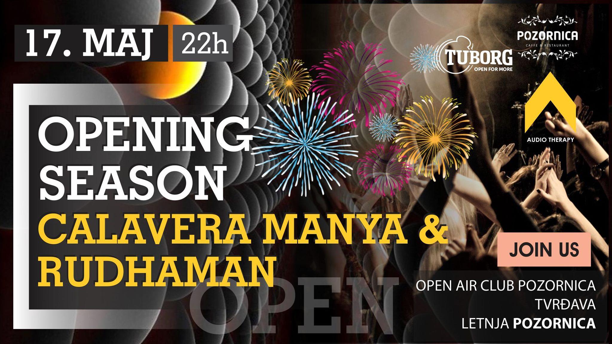 Otvaranje Letnje Sezone 2019 -Calavera Manya & Rudhaman