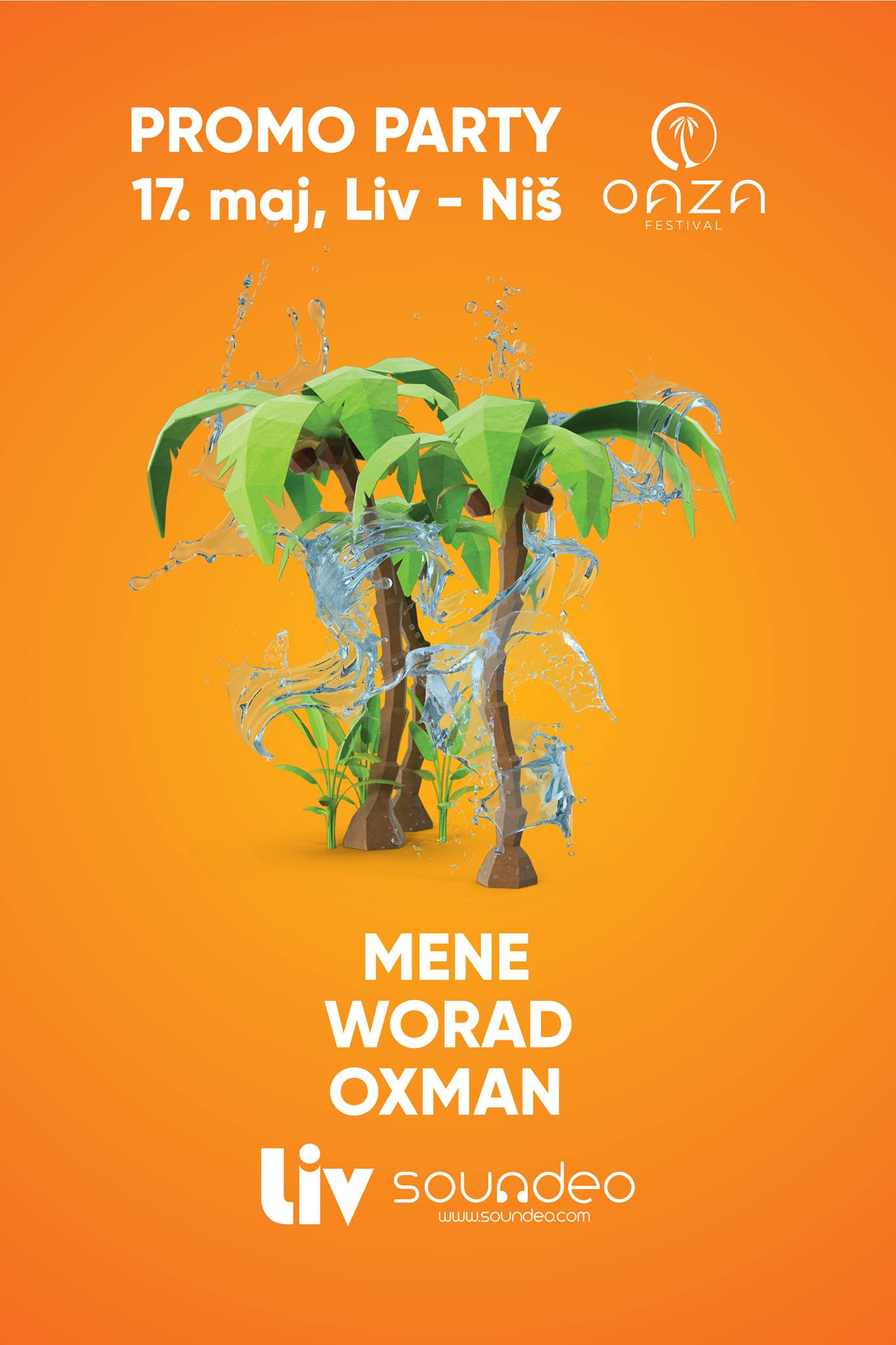 Promo Party w/ Mene, Worad, Oxman @ Liv
