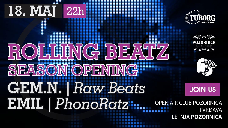 Rolling Beatz @Cafe Pozornica