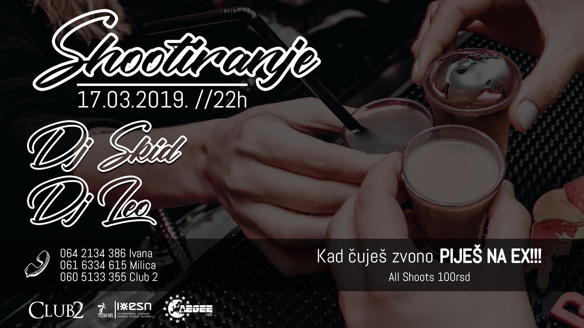 Shootiranje - Tematska žurka by AEGEE-Niš & Esn Niš