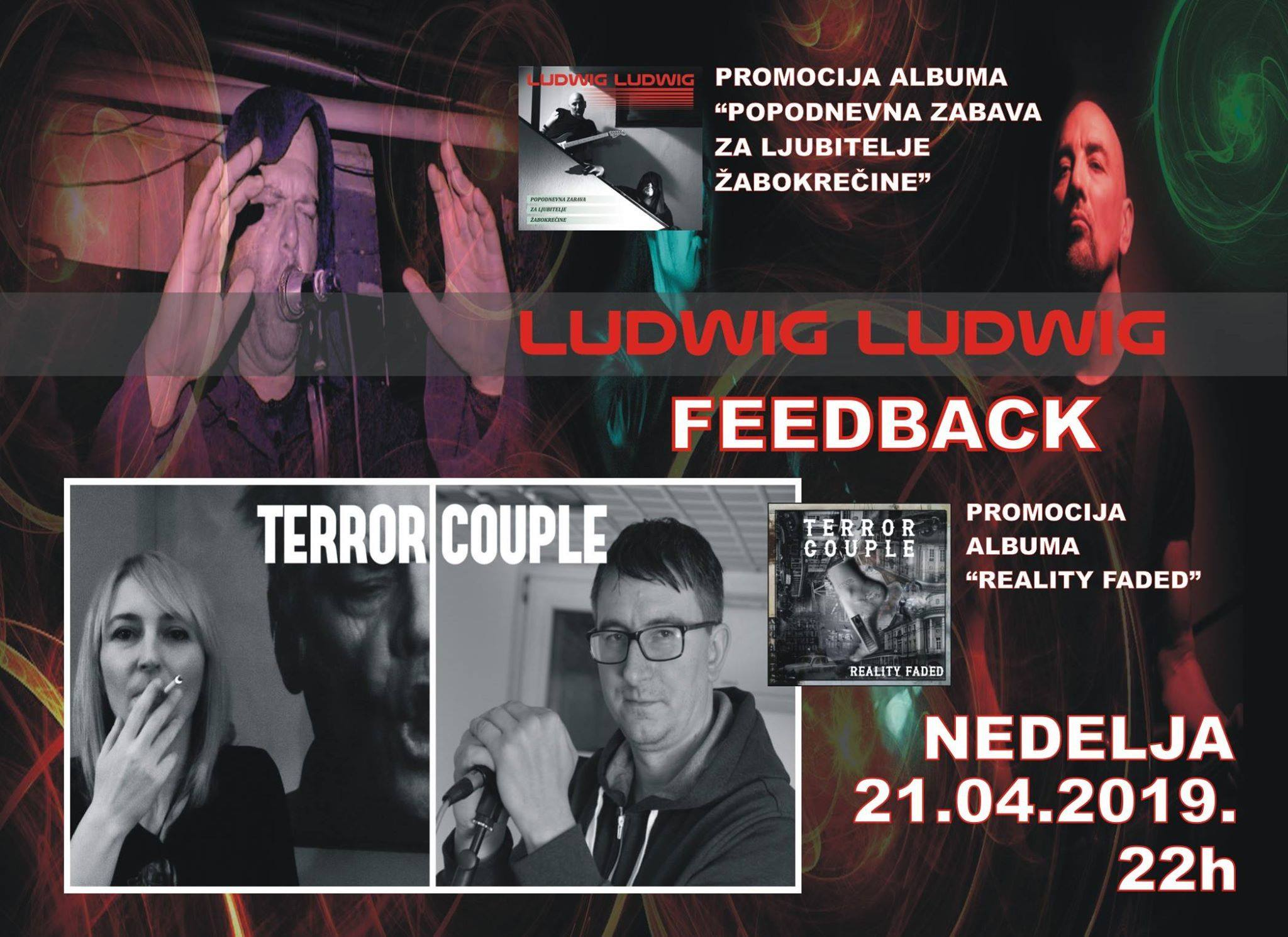 Terror couple - Ludwig Ludwig - 21. Apr - Feedback