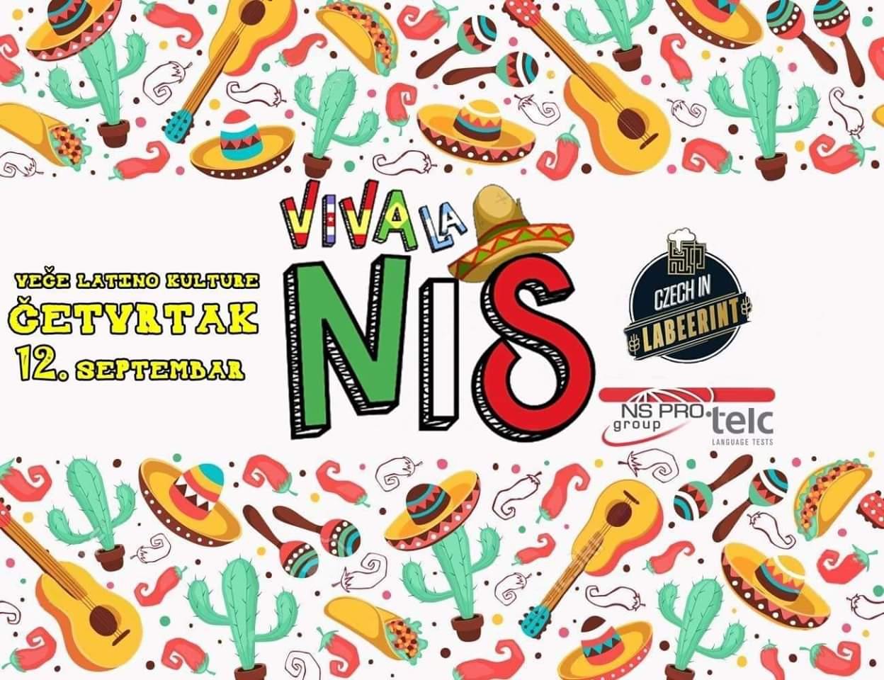 Viva La Niš-veče latino kulture @Labeerint