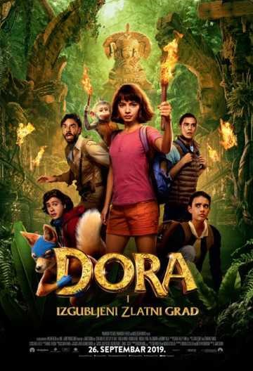 Dora i izgubljeni zlatni grad